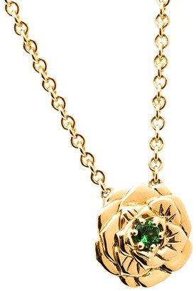 Aurelie Bidermann Rose Pendant Necklace