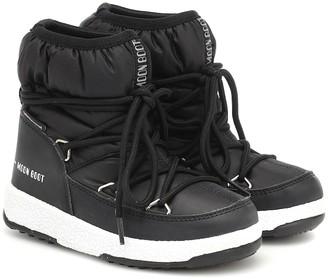 Moon Boot Kids Nylon snow boots