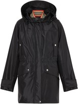 Burberry detachable gilet zipped coat