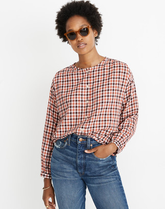 Madewell Meadow Shirt in Check