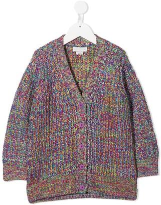 Stella McCartney Kids Chunky Knit Cardigan
