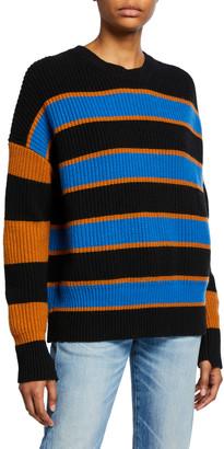 A.L.C. Roman Striped Lambswool Sweater