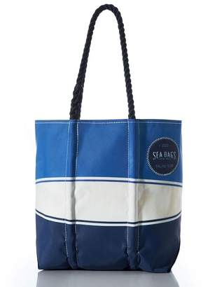 Pottery Barn Blue Sailing Tote Bag