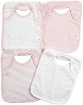 Burt's Bees Baby Bibs - Organic Cotton - Blossom - 4 ct