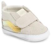 Vans Infant Girl's 'Sk8-Hi' Crib Sneaker