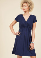 ModCloth Twist the Night Away Dress in Navy in 3X