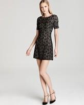 ABS by Allen Schwartz Lace Dress - Short Sleeve