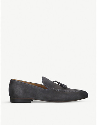 Selfridges Naples leather loafers