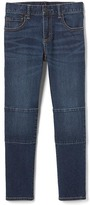 Gap 1969 Patch-Knee High Stretch Slim Jeans