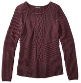 Jessica Women's Chunky Cable-Knit Crew-Neck Sweater