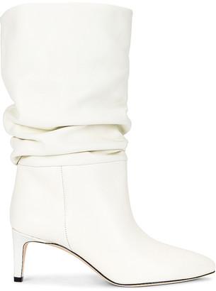 Paris Texas Slouchy Boot in White | FWRD