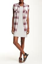 Andrea Jovine Raglan Short Sleeve Dress