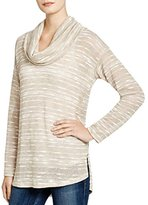 Splendid Women's Upstate Loose Knit Cowl Neck Tunic Top