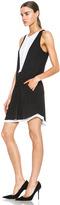 A.L.C. Solange Dress in Black & White