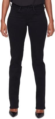NYDJ Marilyn Catwalk High Waist Embellished Pocket Jeans