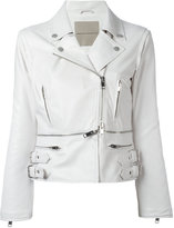 Ermanno Scervino zipped details strappy jacket - women - Silk/Polyamide/Acetate - 40