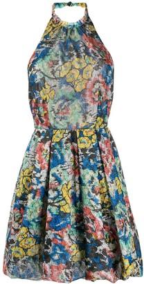 Missoni Floral-Print Puffball Dress