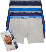 Michael Kors Men's 4 Pack Boxer Briefs