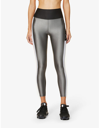 P.E Nation Side Runner high-rise stretch-jersey leggings