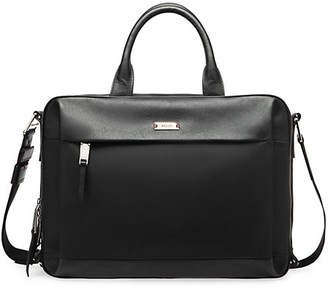 Bally Vogel Leather Briefcase