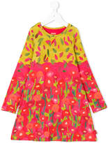 Oilily flower and leaf print dress