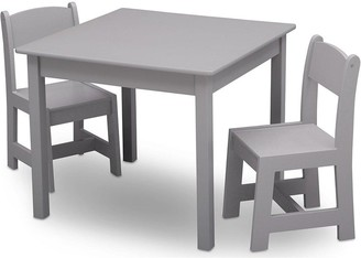 Mysize Table And Chair Set- Grey