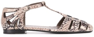 Church's Python-Print Sandals