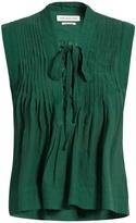 Etoile Isabel Marant Kenny lace-up sleeveless top