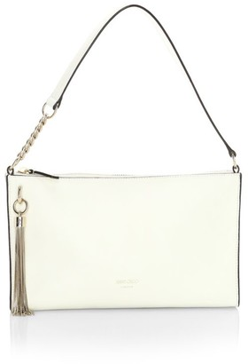 Jimmy Choo Mini Callie Tassel Leather Shoulder Bag