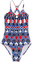 OndadeMar Girls' Atlantic Deep One-Piece