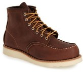 Red Wing Shoes 6 Inch Moc Toe Boot (Nordstrom Exclusive) (Men)