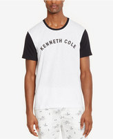 Kenneth Cole Reaction Men's Colorblocked Graphic-Print Logo T-Shirt