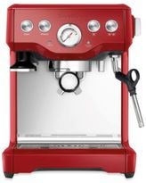 Breville InfuserTM BES840CBXL Espresso Machine in Cranberry Red