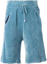 Laneus ribbed bermuda shorts - men - Nylon/Viscose - 48
