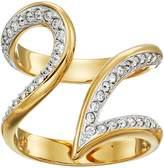 Swarovski Groove Ring Wide Ring
