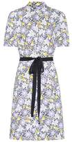 Carolina Herrera Printed cotton shirt dress