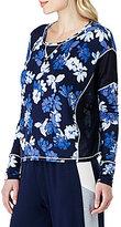Kensie Floral-Printed Jersey Sleep Top
