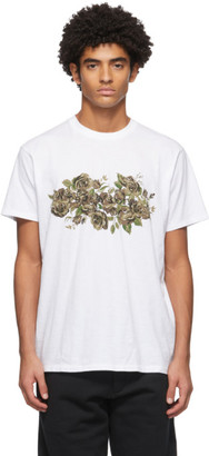 Rag & Bone White Floral Camo T-Shirt