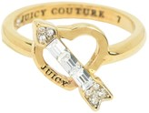 Juicy Couture Arrow Heart Ring
