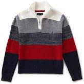 Nautica Big Boys 8-20 Wide-Stripe Sweater