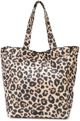 Loeffler Randall Roxanna leopard tote