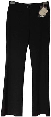 Christian Dior Black Wool Trousers