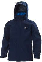 Helly Hansen Boy's Jr. Dubliner Waterproof Hooded Jacket