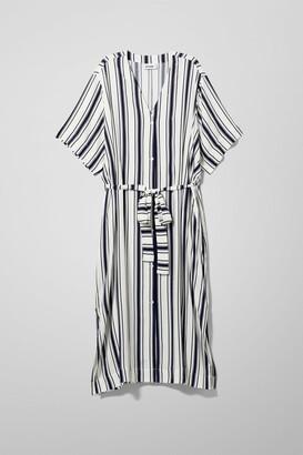 Weekday Verna Shirt Dress - White
