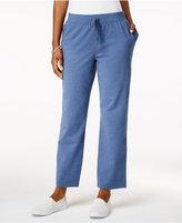 Karen Scott Petite Soft Pull-On Pants, Only at Macy's