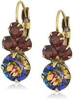 Sorrelli Mahogany Wisteria Drop Earrings