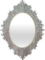 DENY Designs Iveta Abolina Coastal Raindrops Baroque Mirror, 19 x 14