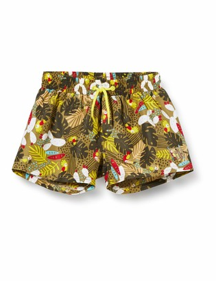 Tuc Tuc Green Printed Swimming Trunks for BOY Tropical Jungle