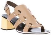 Marni strappy sling back sandal