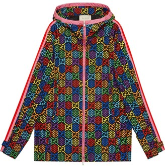Gucci GG Psychedelic print hooded jacket
